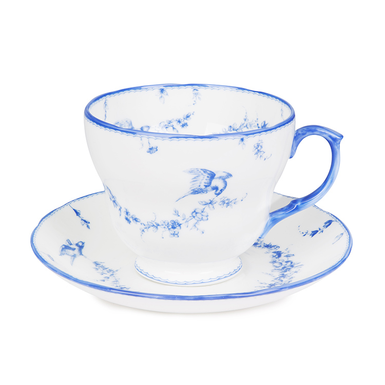 109bacc8b0a Royal Birdsong Fine Bone English China| Buy Royal Birdsong Teacup and  Saucer from The Buckingham Palace Online Shop