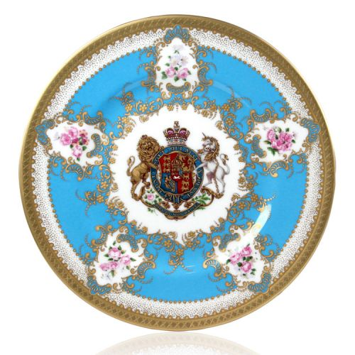 Buckingham Palace Coat of Arms Side Plate