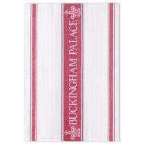 Buckingham Palace Red Waffle Tea Towel