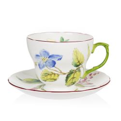 Buckingham Palace Chelsea Porcelain Teacup and Saucer