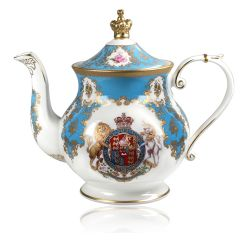 Buckingham Palace Coat of Arms 6 Cup Teapot