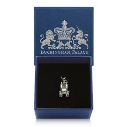 Buckingham Palace Silver Throne Charm