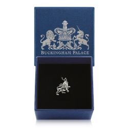 Buckingham Palace Silver Lion Charm