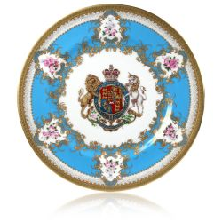 Buckingham Palace Coat of Arms Dinner Plate