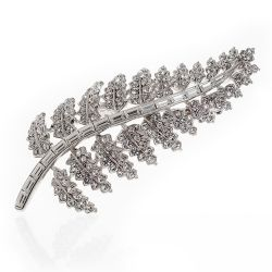 Buckingham Palace Fern Brooch