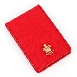 Buckingham Palace Red Leather Memo Pad