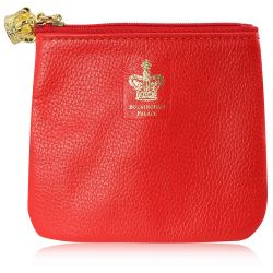 Buckingham Palace Red Leather Purse
