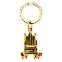 Buckingham Palace Gold Throne Keyring