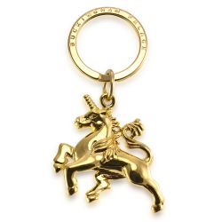 Buckingham Palace Gold Unicorn Keyring