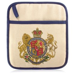 Buckingham Palace God Save The Queen Pot Holder