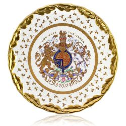 Limited Edition Diamond Jubilee Cake Plate