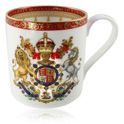 Buckingham Palace Coronation Commemorative Mug