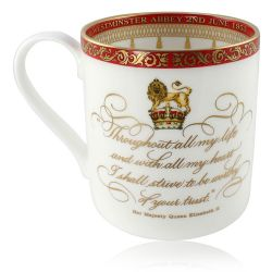Buckingham Palace Coronation Commemorative Mug