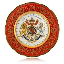 Buckingham Palace Coronation Commemorative Plate