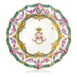 Limited Edition George V Dessert Plate