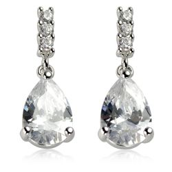 Buckingham Palace Crystal Drop Earrings