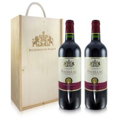 Buckingham Palace Red Wine Gift Set