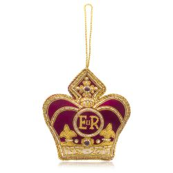 Buckingham Palace Red EIIR Decoration