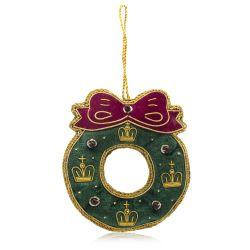 Buckingham Palace Christmas Wreath Decoration