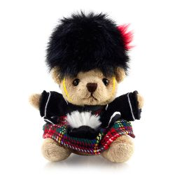 Buckingham Palace Plush Piper Keyring