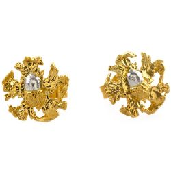 Alex Monroe for Buckingham Palace Acorn Earrings
