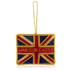 Windsor Castle Union Flag Decoration