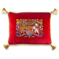 Buckingham Palace Longest Reigning Monarch Cushion