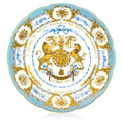 Buckingham Palace The Queen's 90th Birthday Commemorative Plate