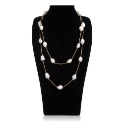 Buckingham Palace Ivory Multi Pearl Rope