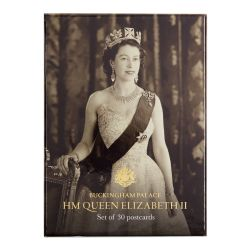 Buckingham Palace HM Queen Elizabeth II Postcard Set