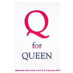 Buckingham Palace Q for Queen Tea Towel