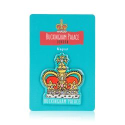 Buckingham Palace Crown Magnet