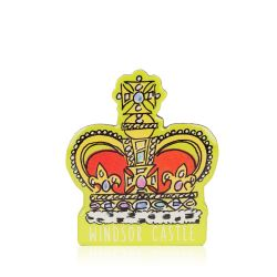 Windsor Castle Crown Magnet