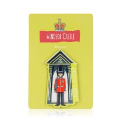 Windsor Castle Guardsman Magnet