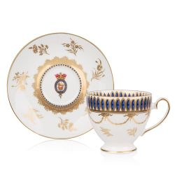 Limited Edition Caughley Teacup and Saucer