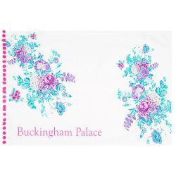 Buckingham Palace Pink Pom Pom Tea Towel