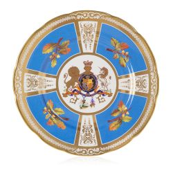 Limited Edition Rockingham Golden Fleece Plate