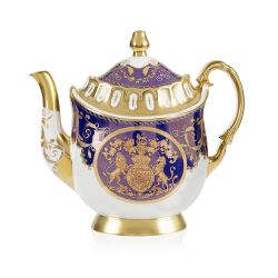Limited Edition Lustre Cobalt Coffee Pot