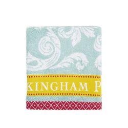 Buckingham Palace Blue Hand Towel