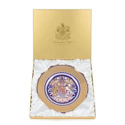 Limited Edition Longest Reigning Monarch Dessert Plate
