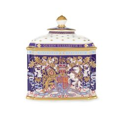 Limited Edition Longest Reigning Monarch Tea Caddy
