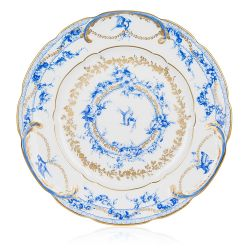 Buckingham Palace Royal Birdsong Gilded Dinner Plate