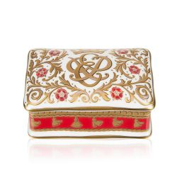 Buckingham Palace 70th Wedding Anniversary Commemorative Pillbox