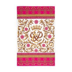 Buckingham Palace 70th Wedding Anniversary Commemorative Tea Towel