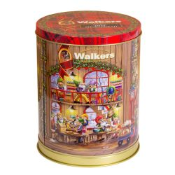Christmas Musical Shortbread Biscuit Tin