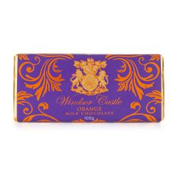 Windsor Castle Orange Chocolate Bar