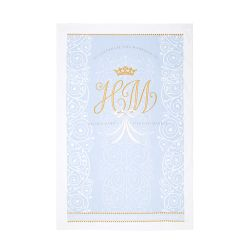 Royal Wedding Official Commemorative Tea Towel