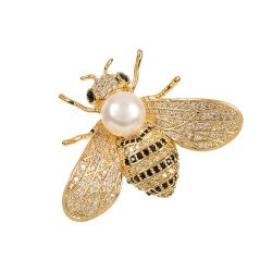 Buckingham Palace Gold Bee Brooch