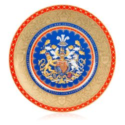 Limited Edition The Prince of Wales 70th Birthday Commemorative Charger Plate
