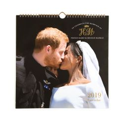 The Duke and Duchess of Sussex Royal Wedding Calendar 2019